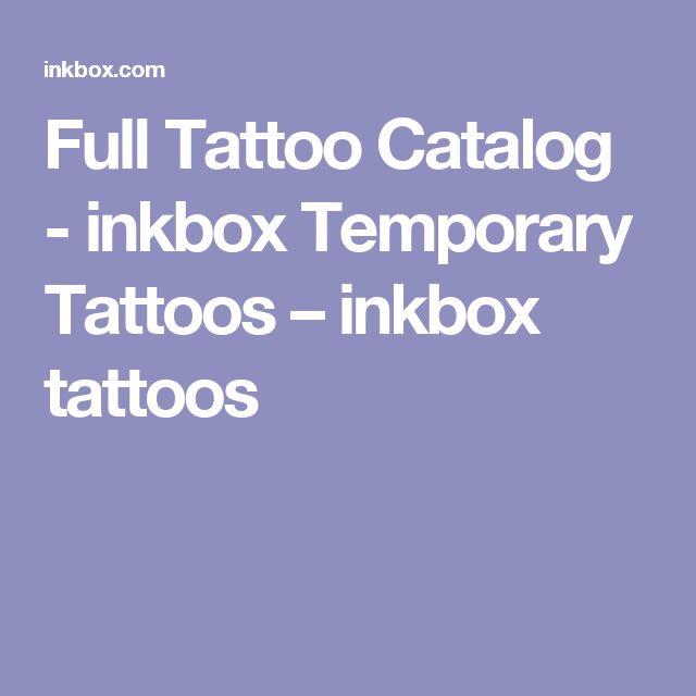 Full Tattoo Catalog - inkbox Temporary Tattoos – inkbox tattoos