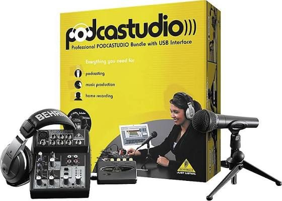 Behringer Podcastudio USB - Recording Packages - Recording Gear - Musician's Friend - PODCASTUDIOUSB