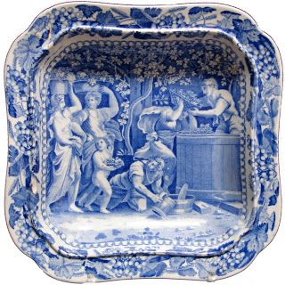 Dishy News - A Transferware Blog: THE WINEMAKERS