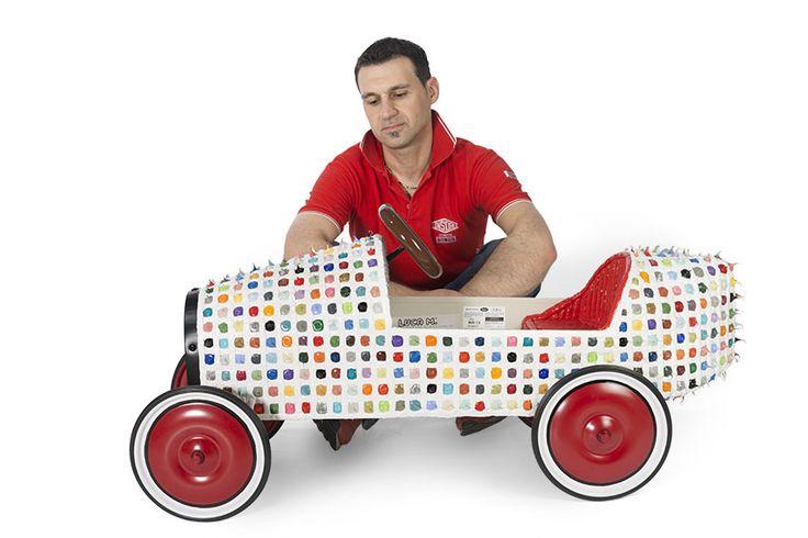 Luca Moretto - Bugatti B35 Color Drops