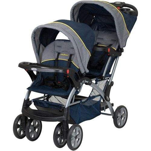 Sit N Stand Double Stroller, Riviera
