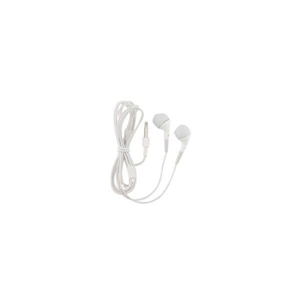 White Stereo Earphones for Apple iPhone 4 iPhone 4S ($3.99) ❤ liked on Polyvore featuring fillers, accessories, electronics, music, other and magazine