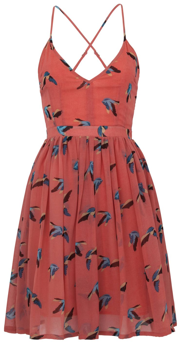 @Jarlo Ilano Ilano London - Mallory Salmon Dress.