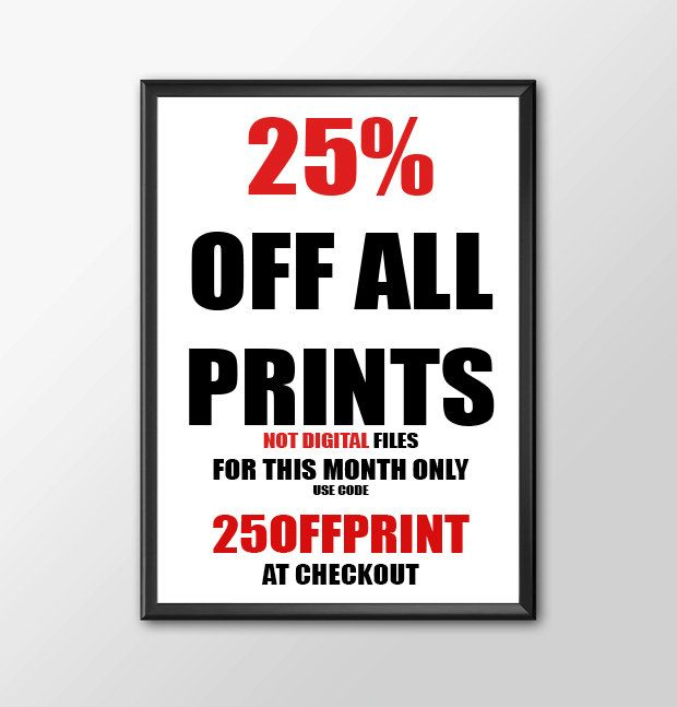 25% Off ANY Print - This month Onlt by ShamanAlternative on Etsy