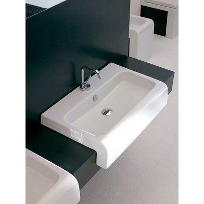 Umywalka 65 x 41,5 cm biała Art Ceram La Fontana LFL00501;00