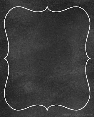 Diy Printables Chalkboard Papers Sister Chalkboard