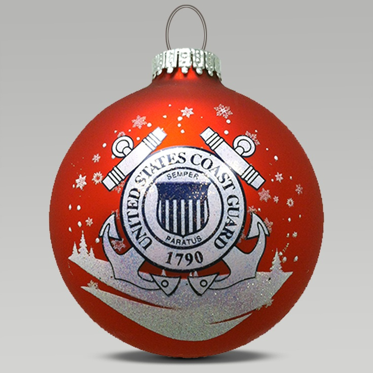 Coast Guard Ornament, we have a few but I like this one