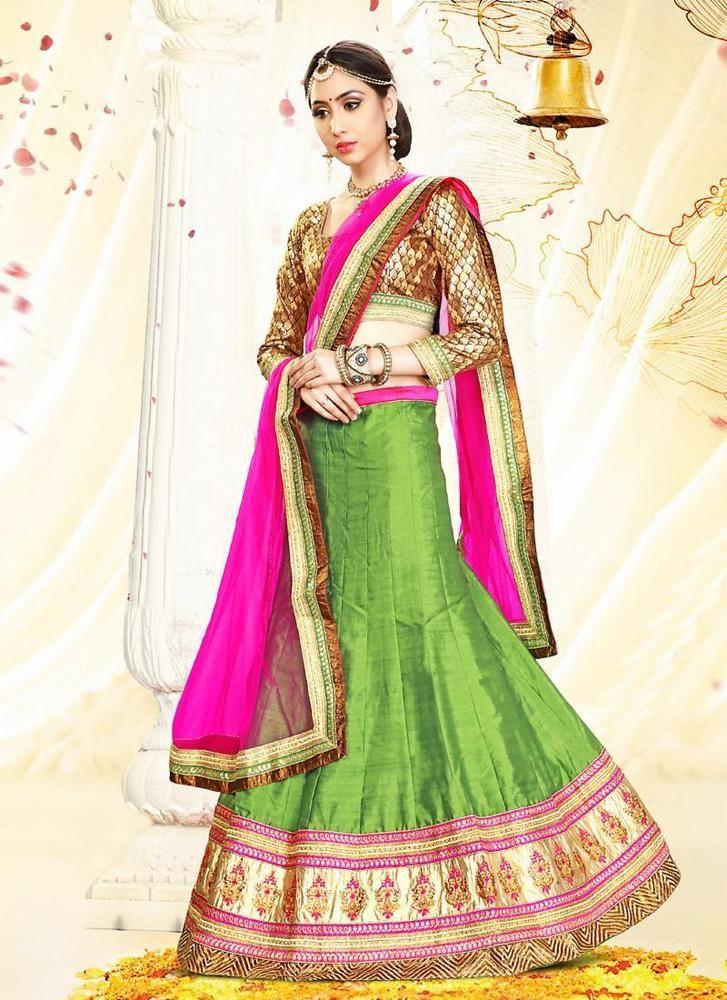 Choli Pakistani Traditional Ethnic wear Lehenga Bollywood Bridal Wedding Indian #Kriyacreation #CircularLehenga