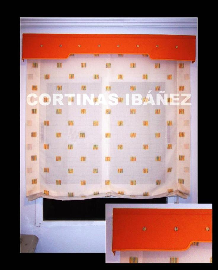 55 best images about cortinas modernas on pinterest - Estor visillo ...