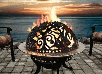 Beltane fire dome