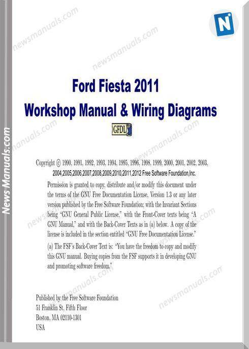 2011 ford fiesta wiring diagrams ford fiesta workshop manual wiring diagram 2011 ford fiesta 2011  ford fiesta workshop manual wiring