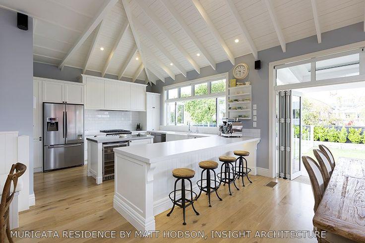 Stunning large kitchen designed by ADNZ member Matt Hodson #adnz #kitchen #architecture