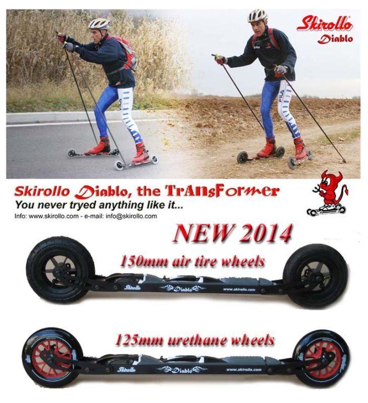 Skirollo Diablo 2014, The transformer...