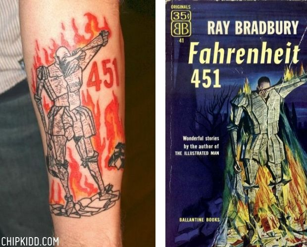 734 best lit tattoos images on pinterest book tattoo for Fahrenheit 451 tattoo