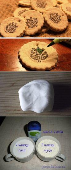 Как сделать соленое тесто для лепки поделок: 4 рецепта