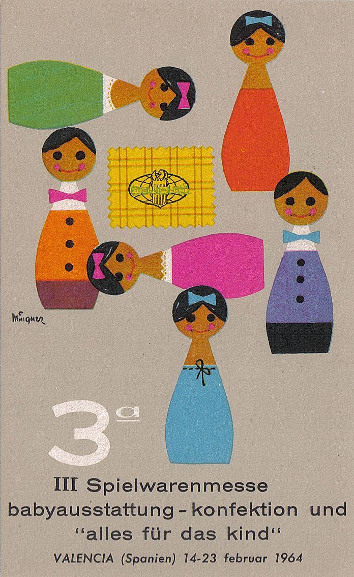 !: Books Covers, Fair Postcards, Fair Ads, Illustration, Poster, Children Fair, Valencia Children, Kids, 1964 Valencia