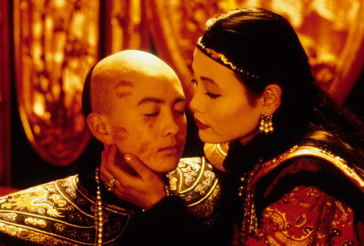 Tao Wu and Joan Chen in The last Emperor directed by Bernardo Bertolucci, 1987