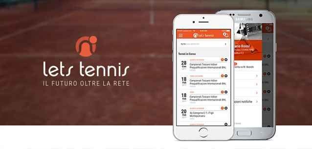"""Let's Tennis per Android e iPhone - l'app perfetta per seguire (e creare) tornei FIT Ecco l'app perfetta per giocatori, arbitri, organizzatori e appassionati di Tornei FIT live italiani!  Con """"Let's Tennis"""" per Android e iPhone potrete seguire eventi, risultati live, informazioni e #tennis #fit #sport #android #iphone"""
