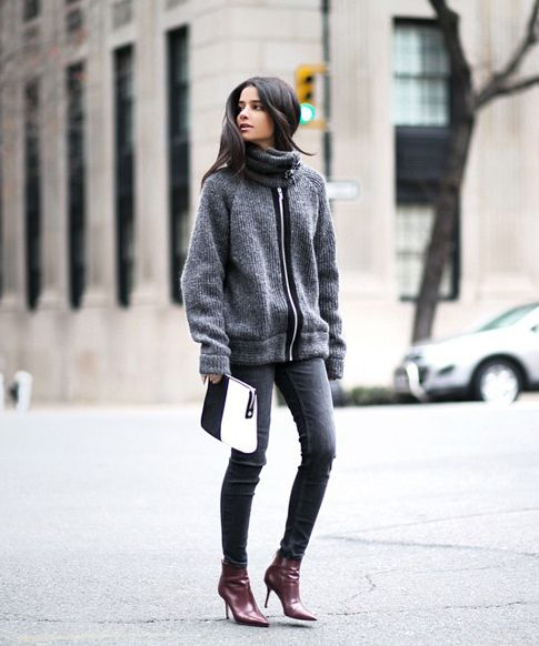 5 Winter Outfits For A Better-Dressed Weekend #refinery29  http://www.refinery29.com/winter-outfit-ideas-from-instagram-bloggers