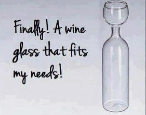 FINALLY!! THE RIGHT WINE GLASS !!