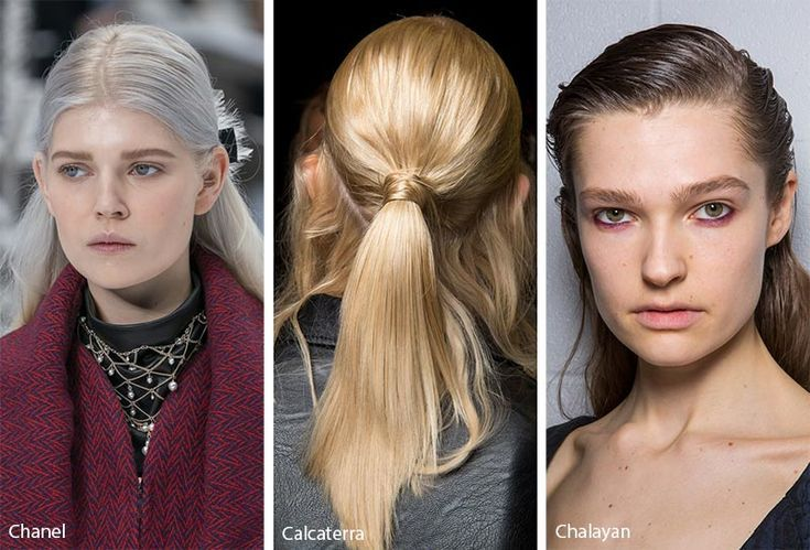 Fall Winter 2019 2020 Hairstyle Trends Fall 2019 Runway