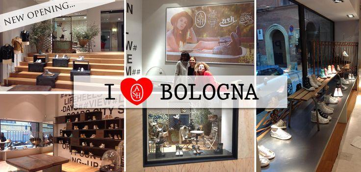 #Ash ama #Bologna! Vieni a scoprire la nostra #boutique in Galleria Cavour 6/A a Bologna! #ashitalia