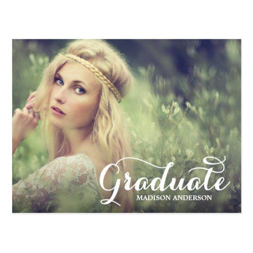 Sweetest Grad | Graduation Postcard Invitation