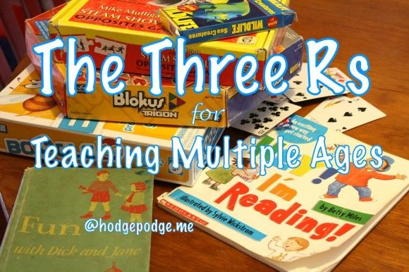 The Three Rs for Multiple Ages