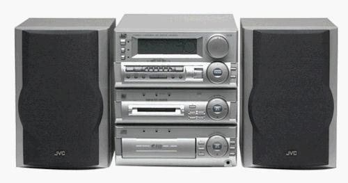 JVC MX-MD70 Mini-Disc Home Theater System