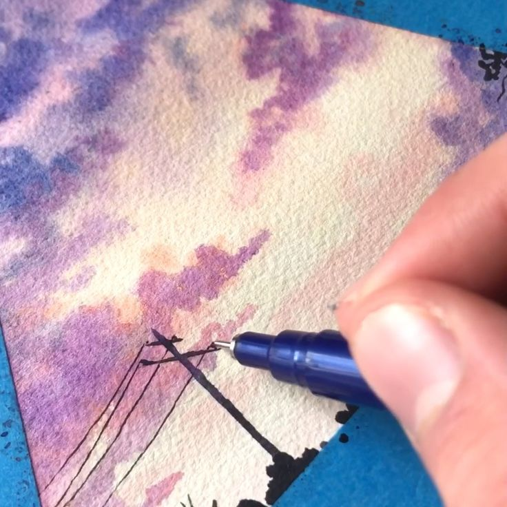 40 Creative And Simple Color Pencil Drawings Ideas Watercolor