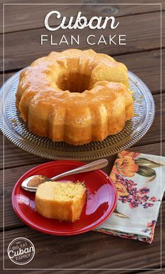 My Big Fat Cuban Family - Delicious Flan Cake Recipe