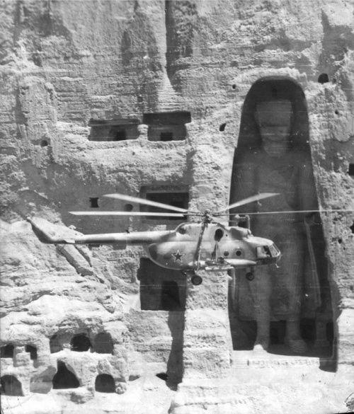 Будда и советские вертолетчики, 1980–е годы, Бамианская долина, Афганистан