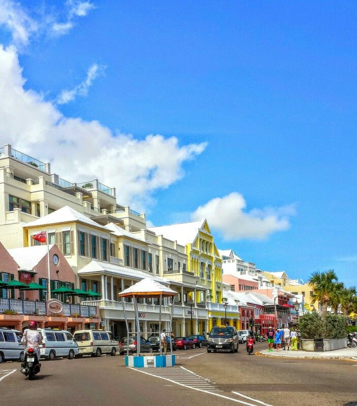 Front St Hamilton Bermuda