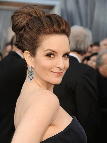 Tina Fey at the Oscars (Hair by Richard Marin for Cloutier Remix)