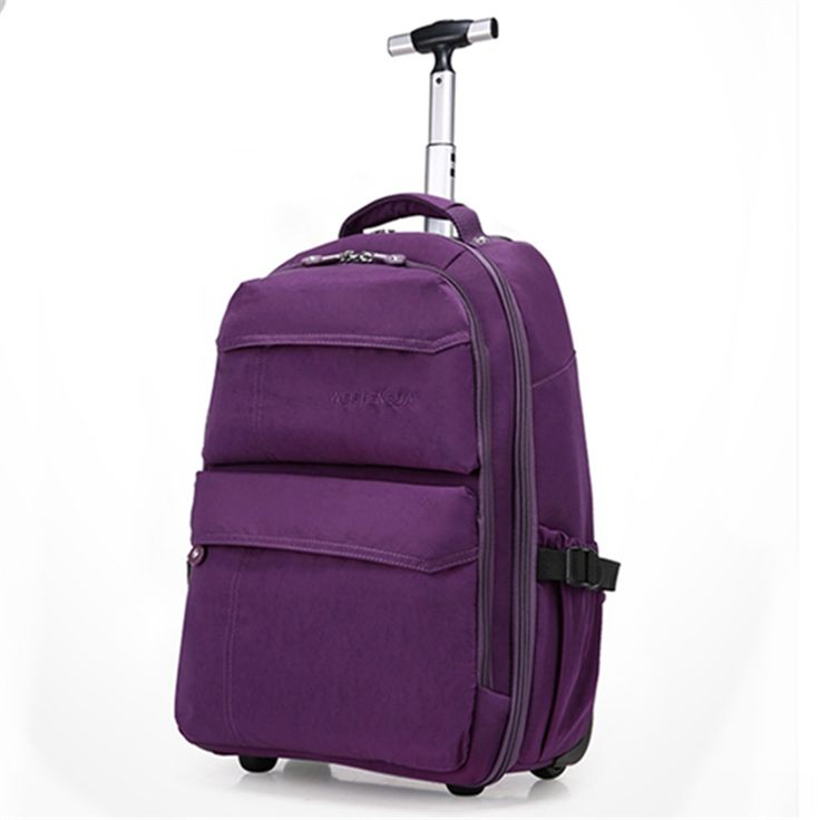 """Single rod travel bags on fixed caster for men and women,21""""computer travel luggage,multi-use backpack for travel luggage  bag"""
