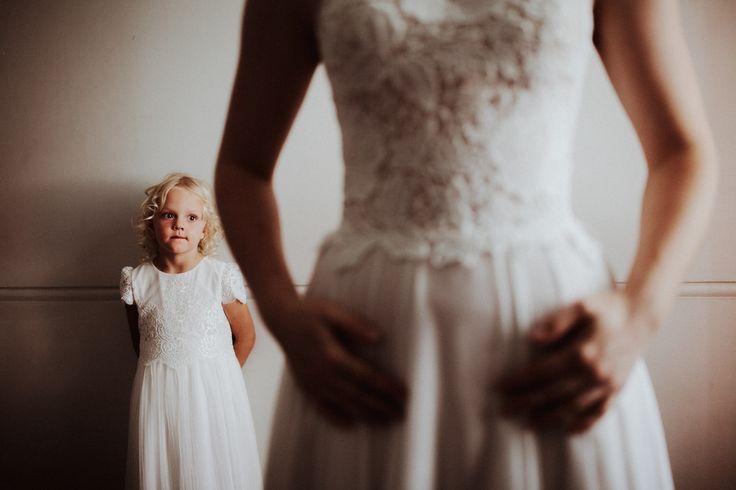 Culcairn Wedding   Riverina Wedding Photographer   Cutest Flower Girl