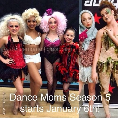 dance moms season 5 Everyone just stop what ur doing a mark the date!!!!!