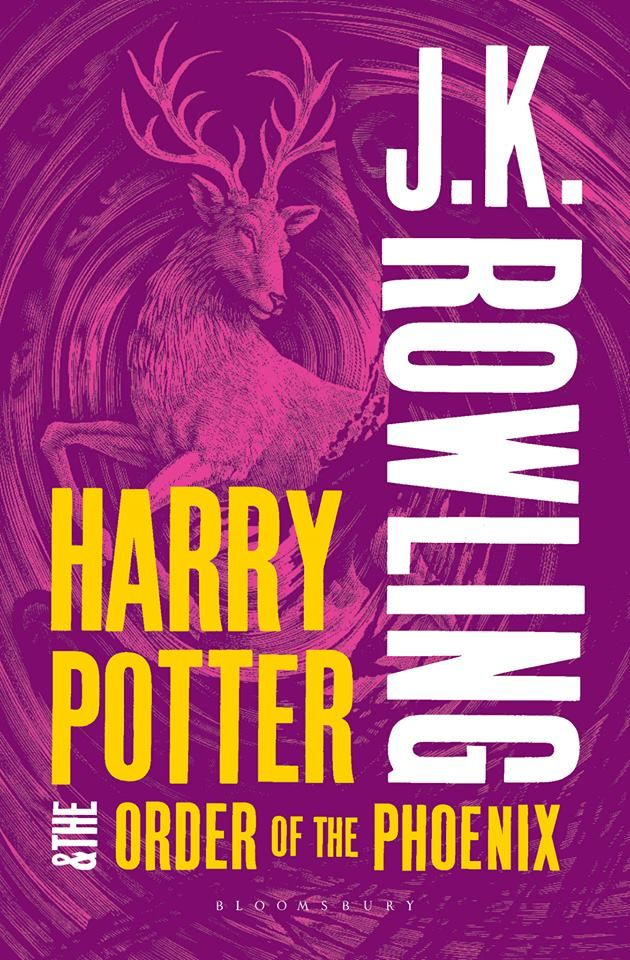 New Cover HP and the Order of the Phoenix.