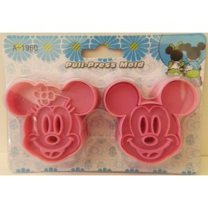 Minnie and Mickey Mouse Sandwich Stamps