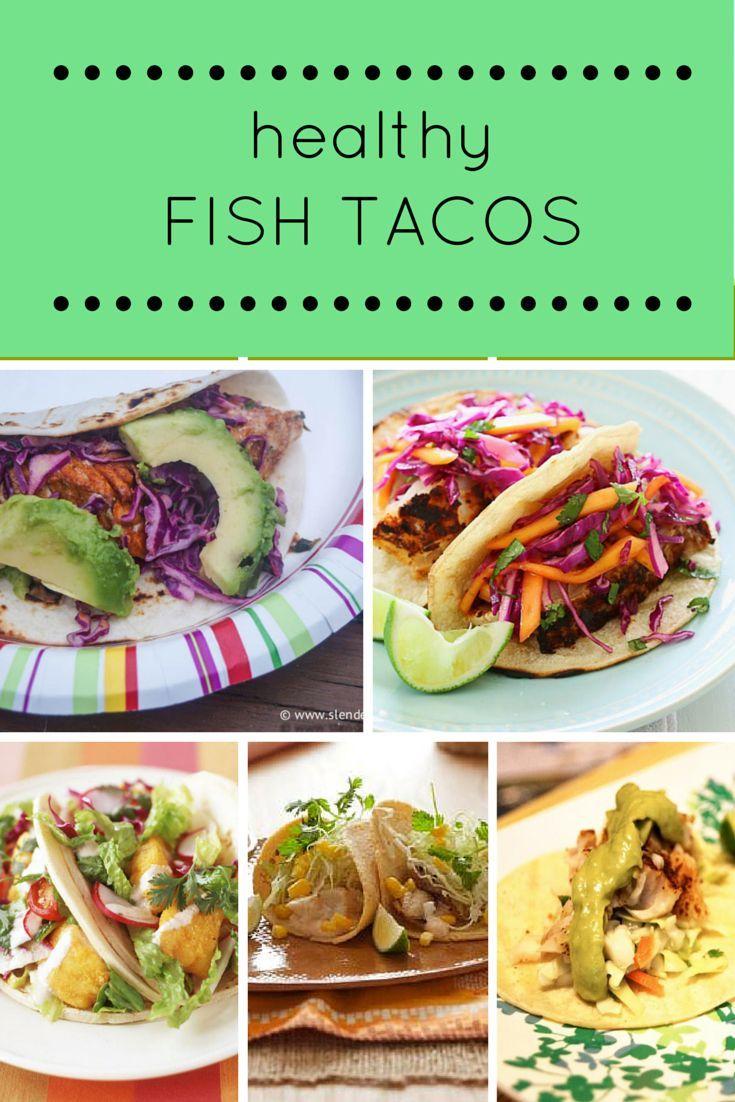 Friday five healthy fish taco recipes flats healthy for Healthy fish tacos