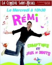 Rémi Guichard dans Comptines et Jeux de doigts La Comédie Saint Michel ( petite salle ) Affiche  Paris 5   Mercredi 10h30   Juin 2013