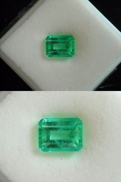 Natural Emeralds 3825: 3.56 Ct Ec Natural Colombian Emerald Gem Gemstone BUY IT NOW ONLY: $7799.0
