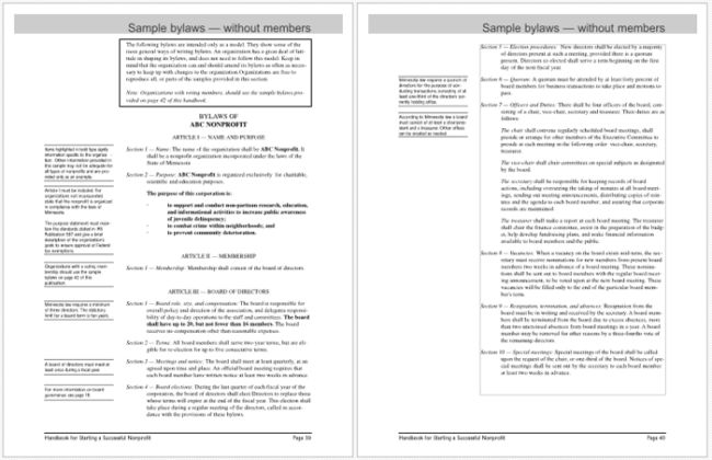Corporate Bylaws Template For Pdf Templates Write Online Nursing Resume