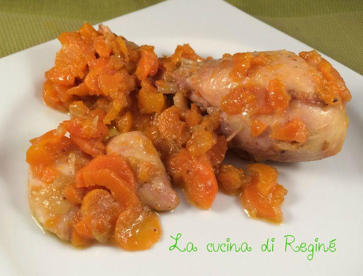 #Pollo con carote alla birra# La cucina di Reginé.