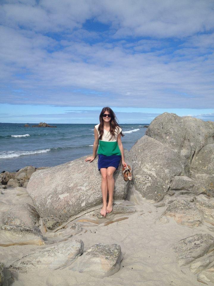 new zealand gilrs beach