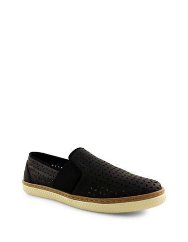 Shoes | Shoes  | Jasper Lazer Perforated Slip-On Flats | Hudson's Bay