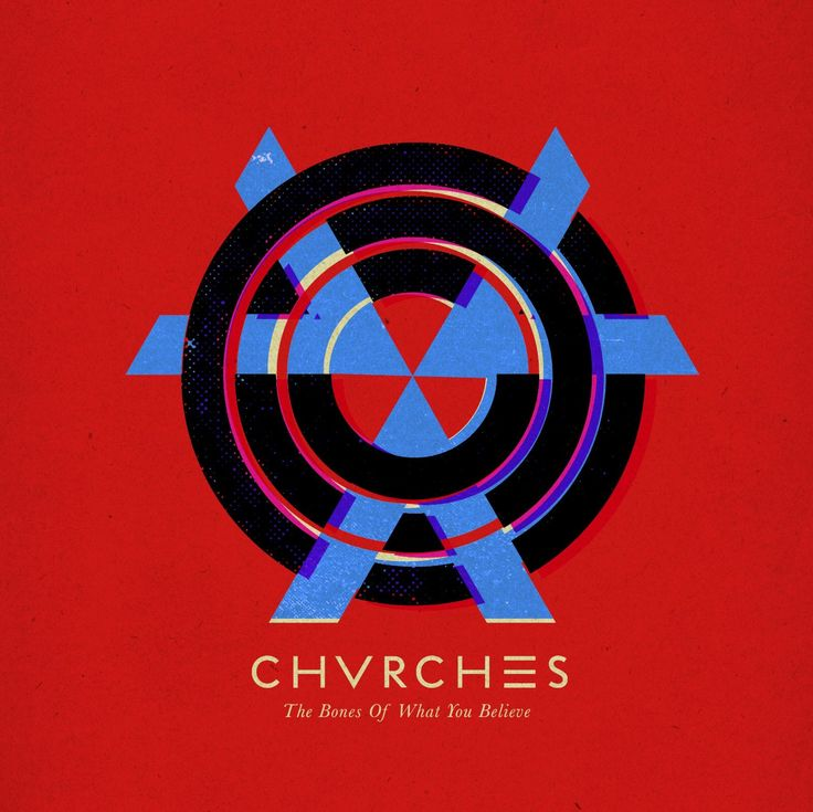 Chvrches - The Bones Of What You Believe Vinyl LP pressing. 2013 debut studio album from the Scottish Electropop band from Glasgow. The group consists of Lauren Mayberry (main vocals, occasionally syn