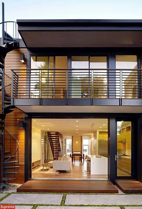 Balcon et structure en acier pour habiller votre extérieur Outdoor