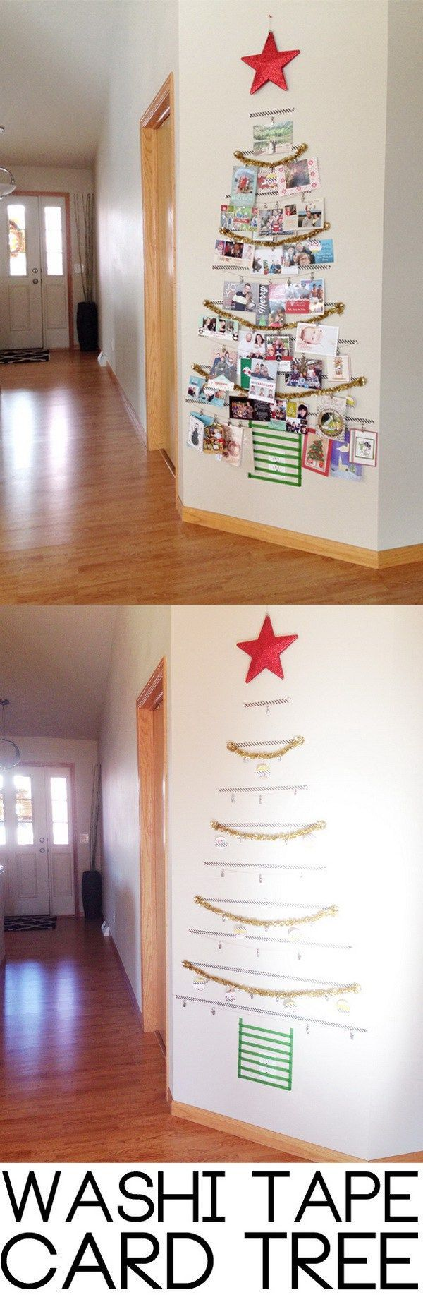 Washi Tape Christmas Tree.