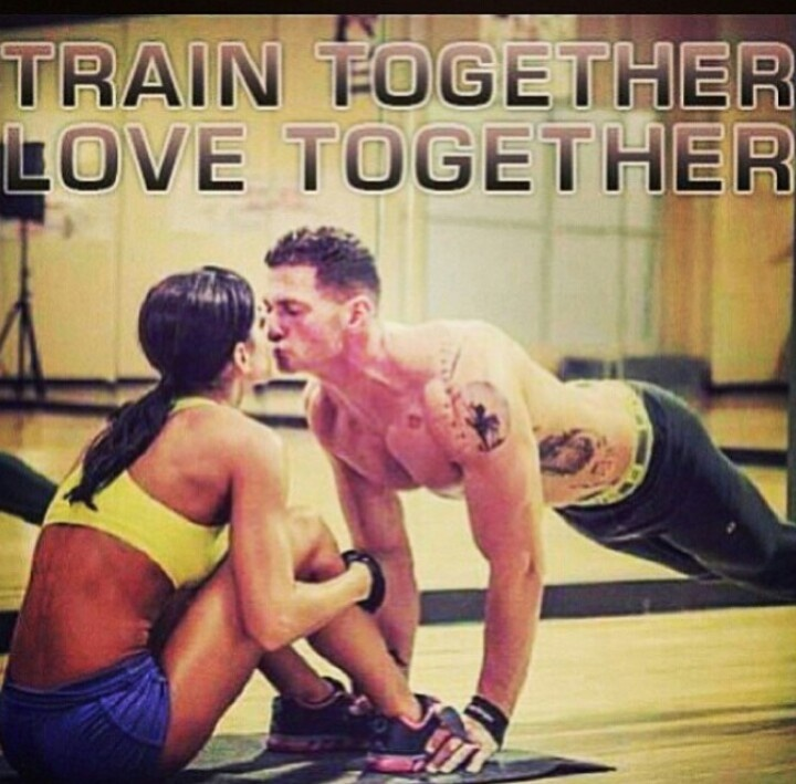 Train together, love together #BeautyAndBeast
